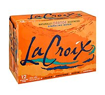 LaCroix Sparkling Water Orange Cans - 12-12 Fl. Oz.