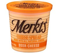 Merkts Beer Cheese Spreadable Cheese Cup 14oz
