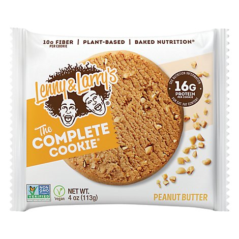 Lenny & Larrys The Complete Cookie Peanut Butter - 4 Oz