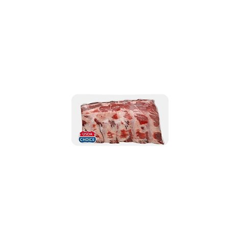 Meat Counter Beef USDA Choice Back Ribs - 3 LB