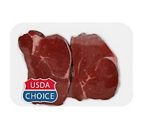 Meat Counter Beef USDA Choice Tenderloin Steak Peeled - 1 LB