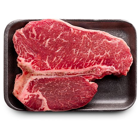 USDA Choice Beef Loin T-Bone Steak Thin Prepacked - 1.50 Lb