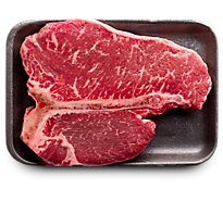 Meat Counter Beef USDA Choice Steak Loin T Bone Thin - 1.50 LB