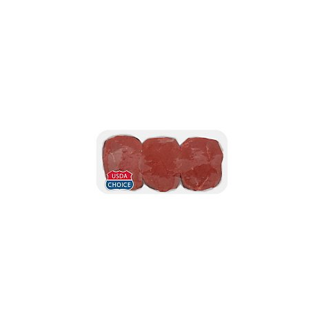 Meat Counter Beef USDA Choice Eye Of Round Steak - 1.50 LB