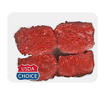 Meat Counter Beef USDA Choice Cubed Steak Valu Pack - 1.50 LB