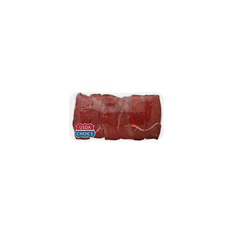 Meat Counter Beef USDA Choice Chuck Country Style Ribs Boneless Extra Lean Value Pack - 2.50 LB