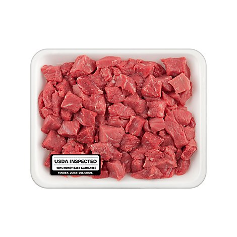 Meat Counter Beef USDA Choice For Stew - 2 LB