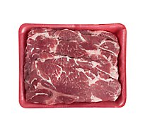 Meat Counter Pork Shoulder Blade Steak Thin Bone In - 1.50 LB