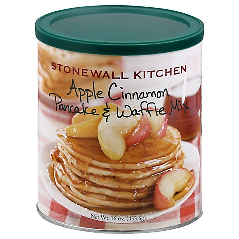 Stonewall Kitchen Pancake & Waffle Mix Cinnamon Apple - 16 Oz