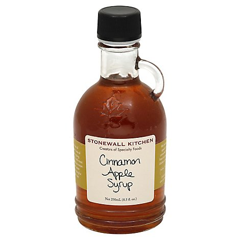 Stonewall Kitchen Syrup Cinnamon Apple - 8.5 Oz