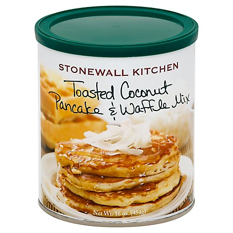 Stonewall Kitchen Pancake & Waffle Mix Toasted Coconut - 16 Oz