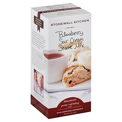 Stonewall Kitchen Breakfast Scone Mix Blueberry Sour Cream - 12 Oz