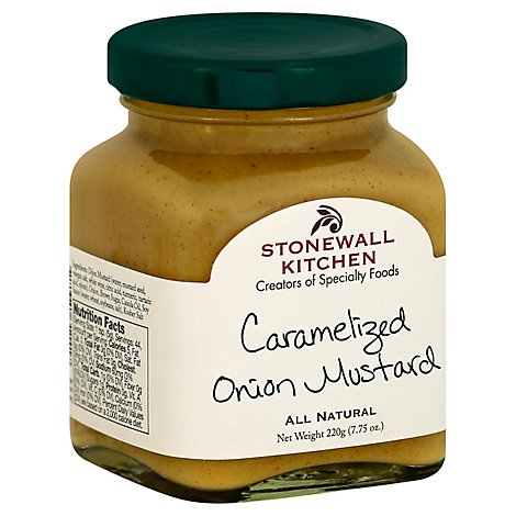 Stonewall Kitchen Mustard Caramelized Onion - 7.75 Oz