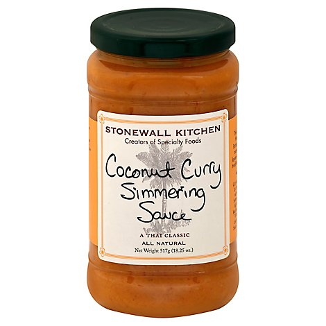 Stonewall Kitchen Simmering Sauce Coconut Curry Jar - 18.25 Oz