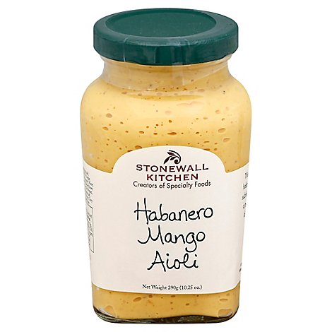 Stonewall Kitchen Aioli Habanero Mango - 10.25 Oz