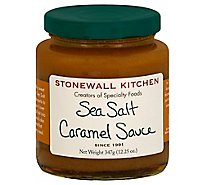 Stonewall Kitchen Sauce Sea Salt Caramel - 12.25 Oz