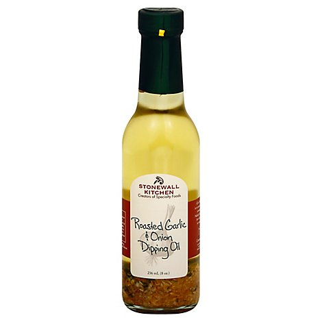 Stonewall Kitchen Oil Dipping Roasted Garlic & Onion - 8 Fl. Oz.