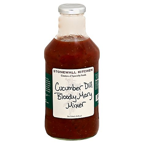 Stonewall Kitchen Mixer Bloody Mary Cucumber Dill - 24 Fl. Oz.