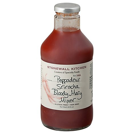 Stonewall Kitchen Mixer Bloody Mary Peppadew Sriracha - 24 Fl. Oz.