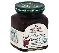 Stonewall Kitchen Organic Jam Blueberry Cherry - 8.5 Oz