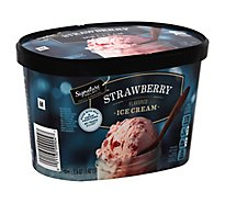 Signature SELECT Ice Cream Strawberry - 1.5 Quart