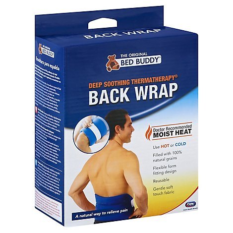 Bed Buddy Wrap Back - Each