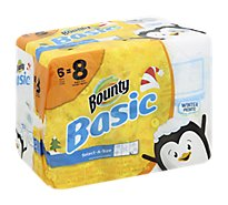 Bounty Basic Paper Towels - 6 Roll