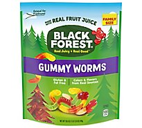 Black Forest Gummy Worms With Real Fruit Juice - 28.8 Oz