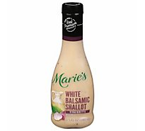 Maries White Balsamic Shallot Vinaigrette - 11.5 Oz