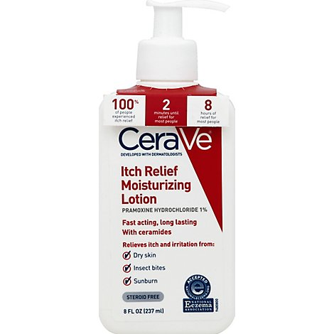 CeraVe Lotion Moisturizing Itch Relief - 8 Fl. Oz.