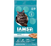 IAMS Proactive Health Cat Food Indoor Weight & Hairball Care - 3.5 Lb