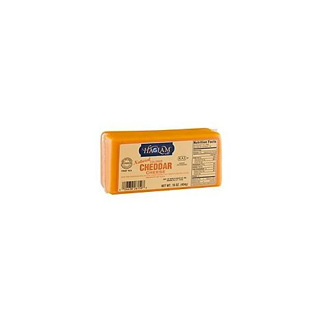 Haolam Cheddar Colored Cheese - 16 Oz