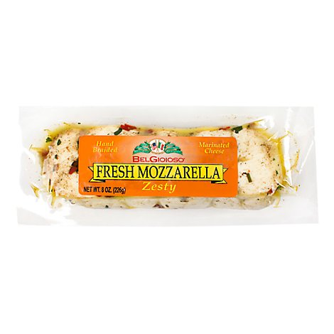 BelGioioso Cheese Fresh Zesty Mozzarella - 8 Oz