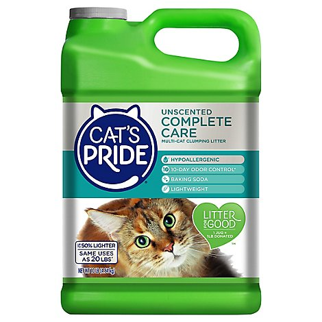 Cats Pride Cat Litter Fresh & Light Multi Ultimate Care Unscented Jug - 10 Lb