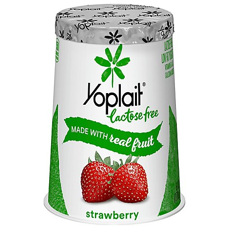 Yoplait Yogurt Low Fat Lactose Free Strawberry - 6 Oz