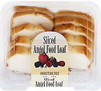 Cake Angel Food Sliced - 8 Oz