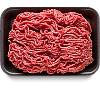 Meat Counter Beef Ground Beef 80% Lean 20% Fat Tray Pack - 1.00 LB