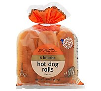 Brioche Hot Dog Buns 6ct - Each