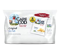 CAPE COD Potato Chips Kettle Cooked Original On-the-Go Packs - 8-0.75 Oz