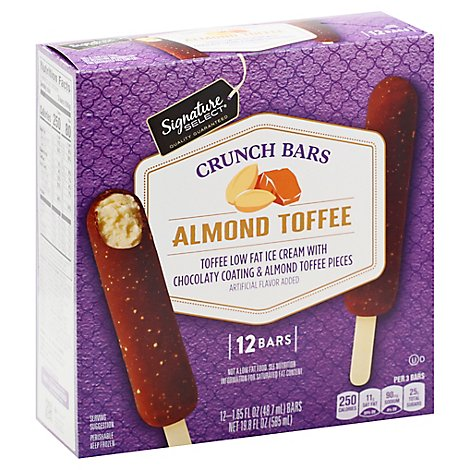 Signature SELECT Crunch Bar English Toffee - 12-1.65 Fl. Oz.