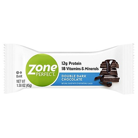 ZonePerfect Nutrition Bar Double Dark Chocolate - 1.58 Oz
