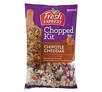 Fresh Express Salad Kit Chopped Chipotle Cheddar - 9.1 Oz
