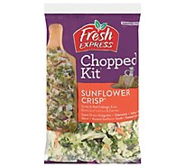 Fresh Express Salad Kit Chopped Sunflower Crisp - 11.1 Oz