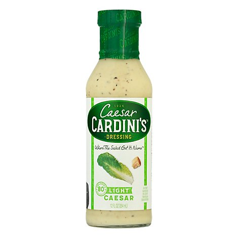 Cardinis Dressing Light Caesar - 12 Fl. Oz.