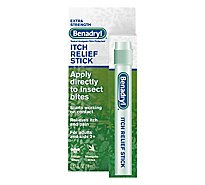 Benadryl Itch Relief Stick Extra Strength - 0.47 Fl. Oz.