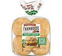 Pepperidge Farm Farmhouse Hearty Buns Hearty White 8 Count - 20 Oz
