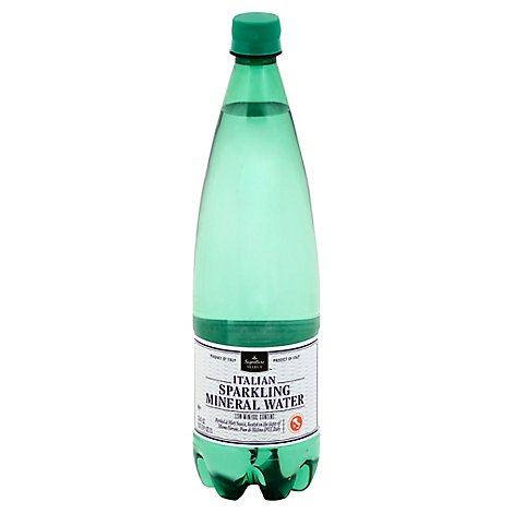 Signature SELECT Mineral Water Sparkling Italian Bottle - 33.8 Fl. Oz.