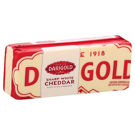 Darigold Cheddar Sharp Cheese - 24 Oz