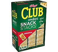 Keebler Club Crackers Original Snack 6 Stacks - 12.5 Oz