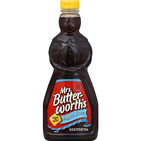 Mrs. Butterworths Syrup Sugar Free - 24 Fl. Oz.